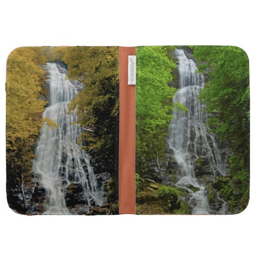 Waterfall Great Smokey Moutain National Park Kindle Case