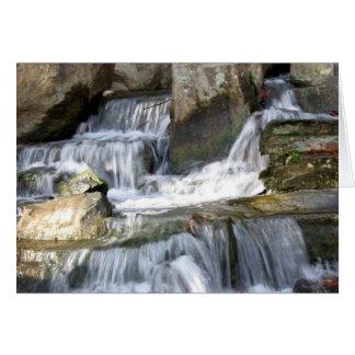 Waterfall - Greeting Card