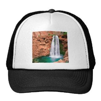 Waterfall Havasupai Mooni Grand Canyon Arizona Hats