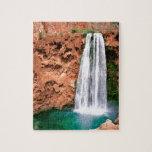 Waterfall Havasupai Mooni Grand Canyon Arizona Puzzle