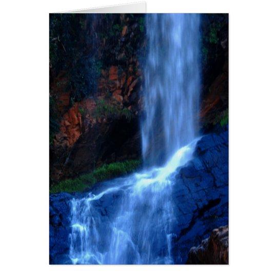 Waterfall Haven Card
