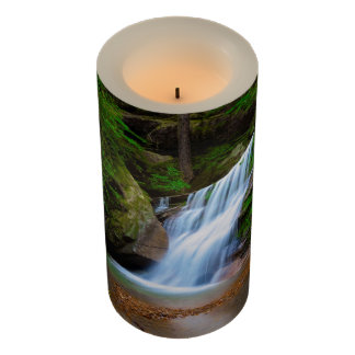 Waterfall Hideaway 3x6 LED Candle