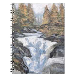 WATERFALL I SPIRAL NOTE BOOK