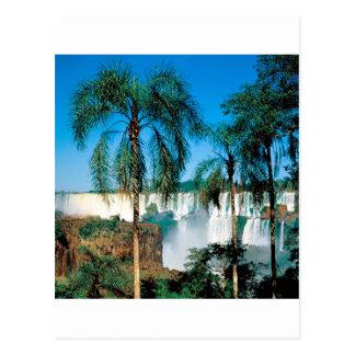 Waterfall Iguassu Argentina Postcard