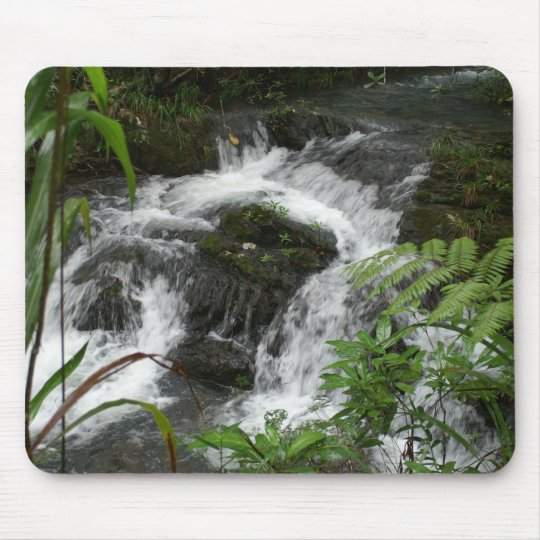 Waterfall in Belize Mouse Pad