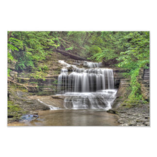 Waterfall in Buttermilk Gorge Photo Print