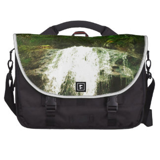 Waterfall in Forest Nature Canada Bag For Laptop