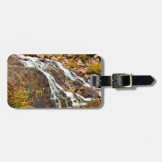 Waterfall In Grand Teton National Park Luggage Tag