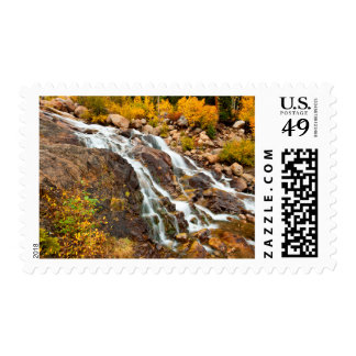Waterfall In Grand Teton National Park Postage
