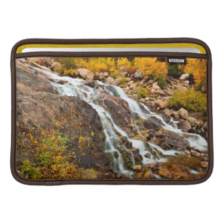 Waterfall In Grand Teton National Park Sleeve For MacBook Air