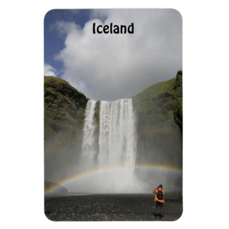 Waterfall in Iceland Premium Flexi Magnet