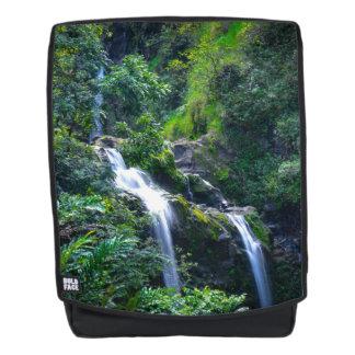 Waterfall in Maui Hawaii Backpack