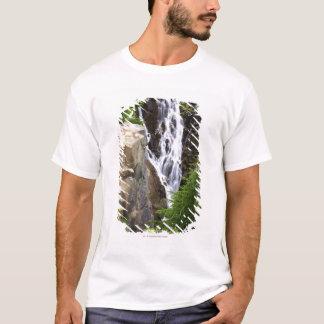 Waterfall in Mount Rainier National Park T-Shirt