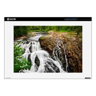 Waterfall in Northern Ontario, Canada Laptop Skin