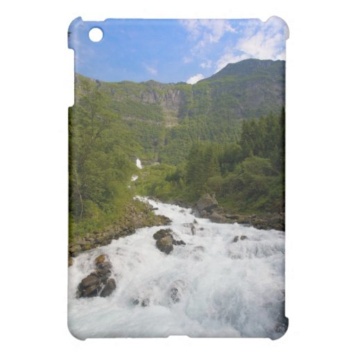 Waterfall in Norway Cover For The iPad Mini