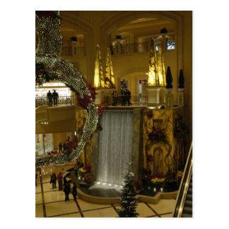Waterfall in Palazzo Postcard