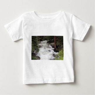 Waterfall in Rocky Mountain National Park Baby T-Shirt