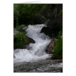 Waterfall in Rocky Mountain National park Card