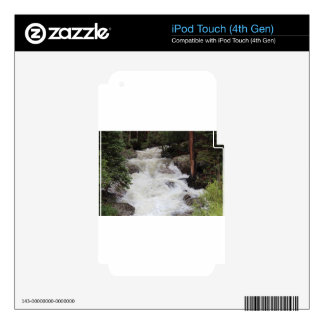 Waterfall in Rocky Mountain National Park Decals For iPod Touch 4G