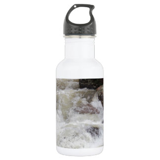 Waterfall in Rocky Mountain National Park Stainless Steel Water Bottle