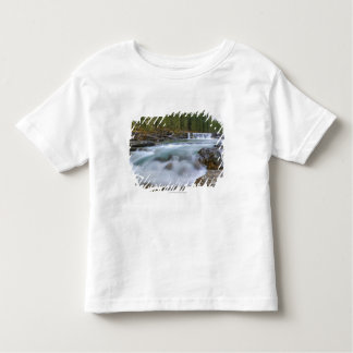 Waterfall In Sheep River In Rocky Mountains Shirt