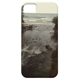 Waterfall in the beach iPhone SE/5/5s case
