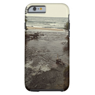 Waterfall in the beach tough iPhone 6 case