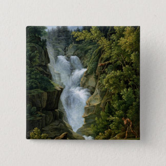 Waterfall in the Bern Highlands, 1796 Button
