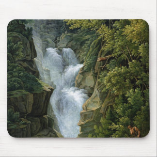 Waterfall in the Bern Highlands, 1796 Mouse Pad
