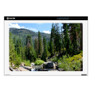 Waterfall in the Forest Laptop Skins
