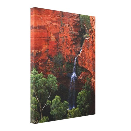 Waterfall in the Kimberlies -  Australian Outback Canvas Print