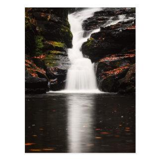 Waterfall in the Poconos of Pennsylvania Postcard