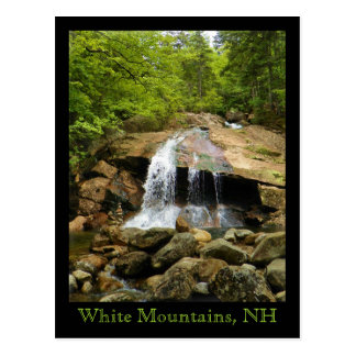Waterfall in the White Mountains Postcard