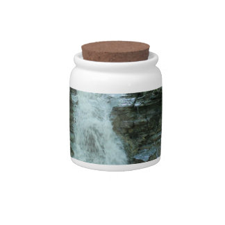 Waterfall in Woods Candy Dish