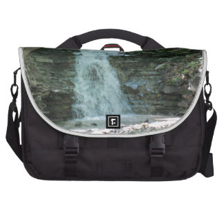 Waterfall in Woods Commuter Bags