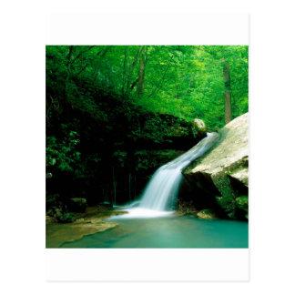 Waterfall Indian Buffalo Arkansas Postcard