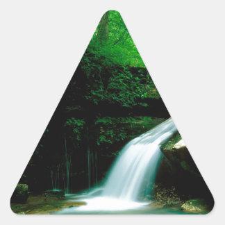 Waterfall Indian Buffalo Arkansas Triangle Sticker
