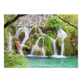 Waterfall 4.5x6.25 Paper Invitation Card