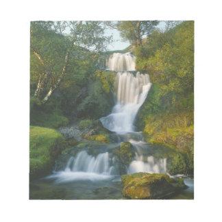 Waterfall, Isle of Skye, Scotland Notepad