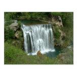 Waterfall - Jajce Post Card