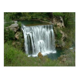 Waterfall - Jajce Postcard