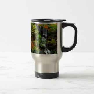 Waterfall Japanese Garden Portland 15 Oz Stainless Steel Travel Mug