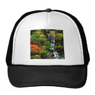 Waterfall Japanese Garden Portland Trucker Hat