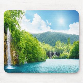 Waterfall Landscape Mousepad