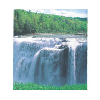Waterfall Letchworth State Park New York Memo Notepad