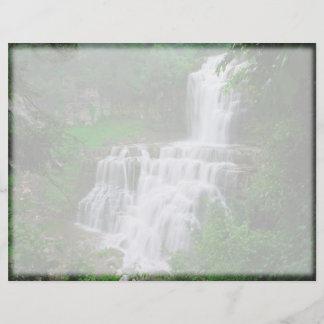 Waterfall Letterhead