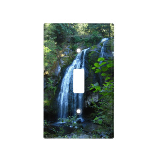 Waterfall Light Switch Cover