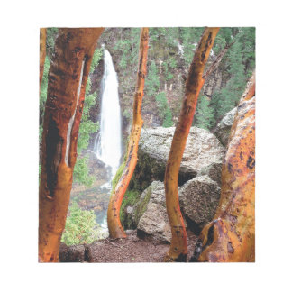 Waterfall Madrone Mill Recreation Area Notepad