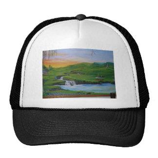 Waterfall Mesh Hats