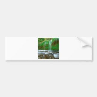 Waterfall Mossbrae Dunsmuir Bumper Sticker